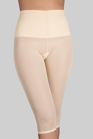 Rago Tummy Control Capri Pant Liner Light Shaping