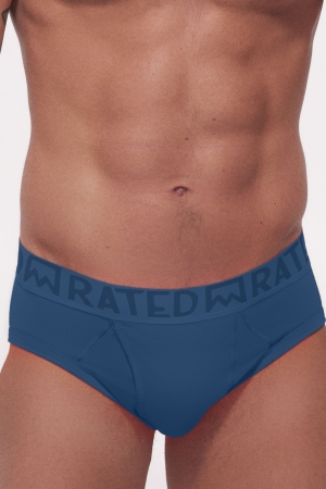Rated M Elementary Single Color Brief