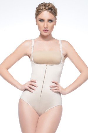 Renolife by Annette i-Control High Back Girdle with Zip