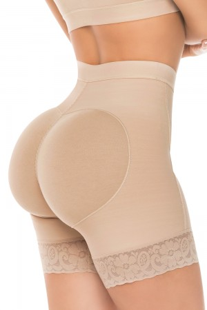 Salome Butt Lifter Short with Holes