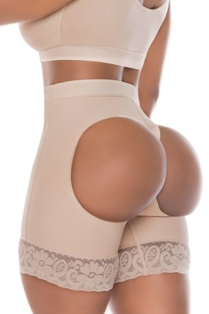 Salome Gluteus Enhancement Shorts with Open Holes