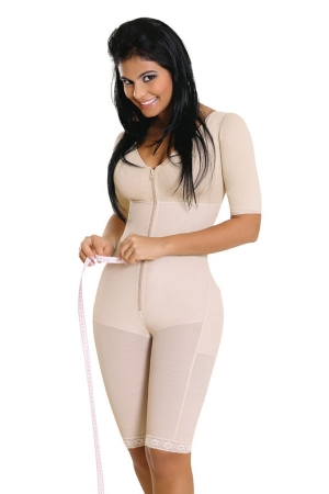 Salome Liposculpture Girdle with Sleeves and Bra