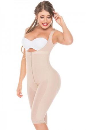 Salome Liposculpture High-Back Girdle with Holes