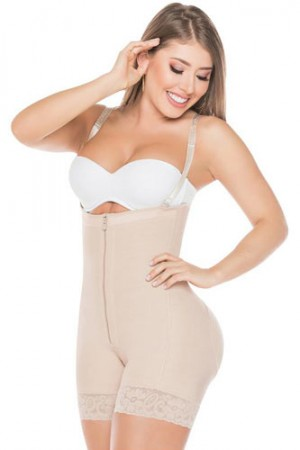 Salome Strapless Short Girdle