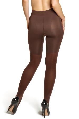 Dark brown pantyhose