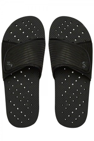 Showaflops Black Slide Men's Flip Flops