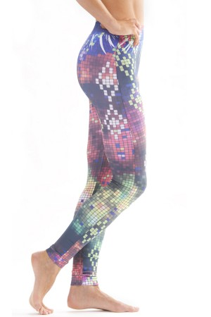 Skinny Tees Digital Print Leggings
