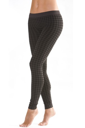 Skinny Tees Houndstooth Leggings