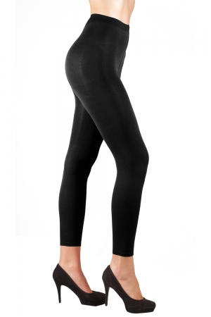 Skweez Couture by Jill Zarin Opaque Footless Sheer Shaper Tight