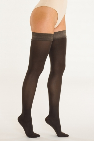Solidea Marilyn - Plus Size Compression Thigh-Highs (25/32 mmHg)