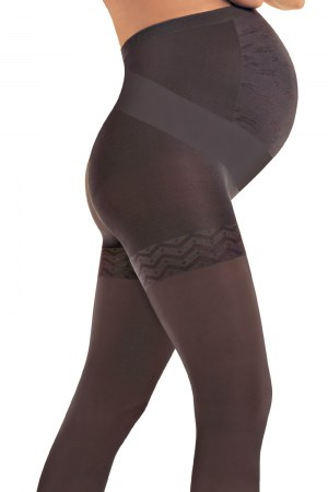 Solidea Maternity Support Pantyhose - Firm Compression for Pregnancy