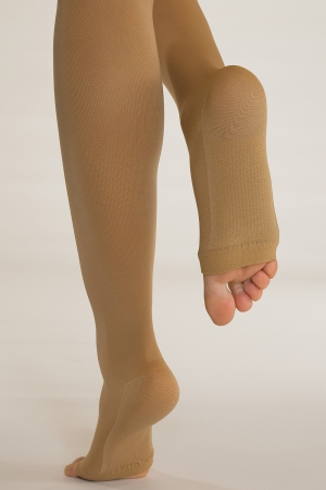 Solidea Relax - Compression Knee-High Socks with Open Toe (18/21 mmHg)