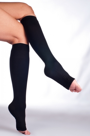 Solidea Relax Unisex 140 Support Knee-High Socks - Firm Compression