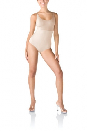 Spanx Hide & Sleek Bodysuit with Thong Back