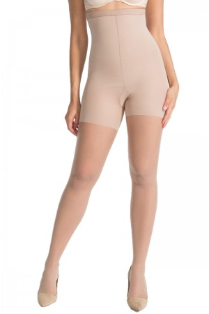 Spanx Luxe Leg High-Waisted Sheers Thighs