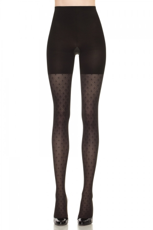 Spanx Patterned Tight-End Tights Dotted Lines