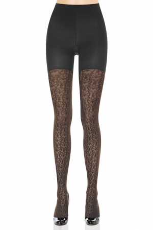 Spanx Patterned Tight-End Tights Filigree