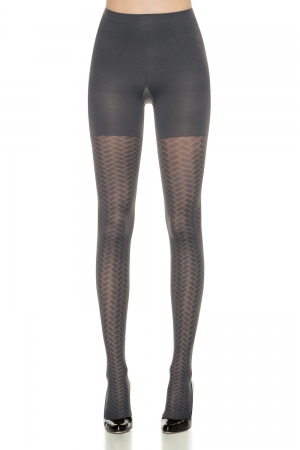 Spanx Patterned Tight-End Tights Peak-a-Boo