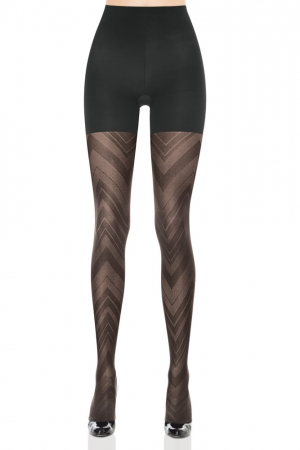 Spanx Patterned Tight-End Tights Sweater Stripe