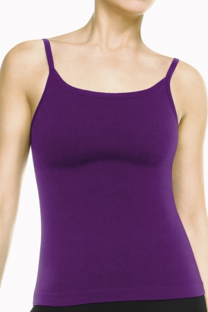 Spanx Ribbed Cami with Shelf Bra