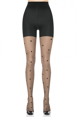 Spanx Sheer Fashion Polka Dot