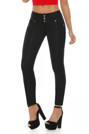 Ten Dance High Waist Butt Lifting Skinny Jeans