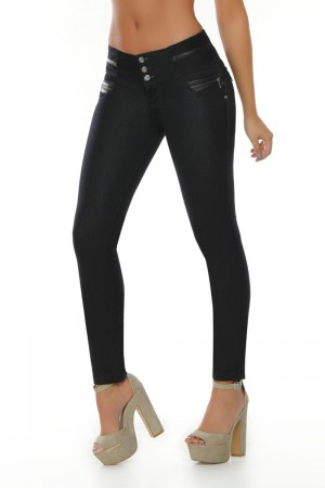 Ten Dance High Waist Push Up Butt Lifting Jeans