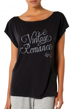 The Intimate Britney Spears Jersey Tee T-Shirt Short Sleeves