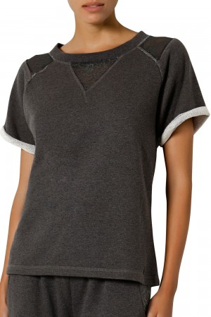 The Intimate Britney Spears Sweat T-Shirt Short Sleeves