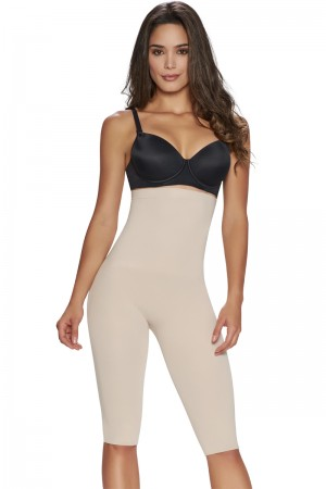 TrueShapers Seamless High-Waist Thigh Slimmer