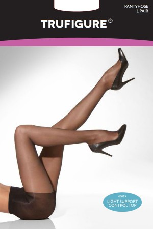 TruFigure Light Support Control Top Sheer Tights