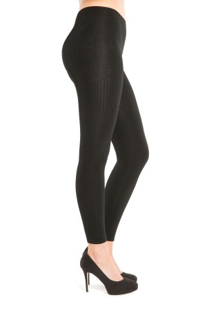 TruFigure Ribbed Fleece Leggings