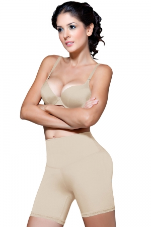 Vedette Dominique Firm Compression Mid-Thigh Push-Up Panty
