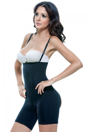 Vedette Isabelle Firm Control Bodysuit with Derriere Enhancer