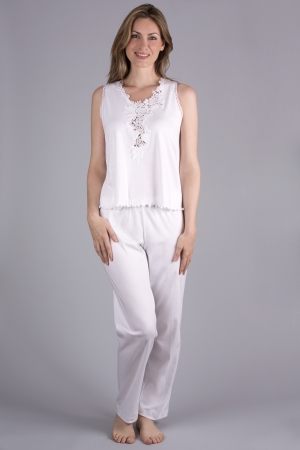 Verena Blakely Long Pajama Sleeveless