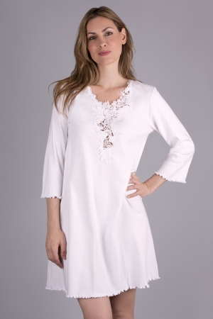 Verena Blakely Short Shirt with 3/4 Sleeves