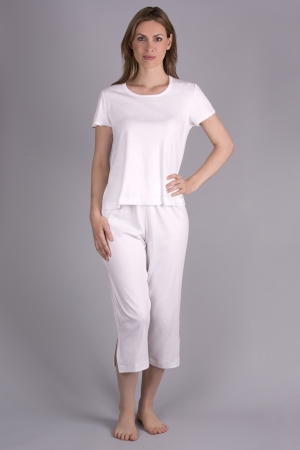 Verena Opus Capri Pajama with Short Sleeves