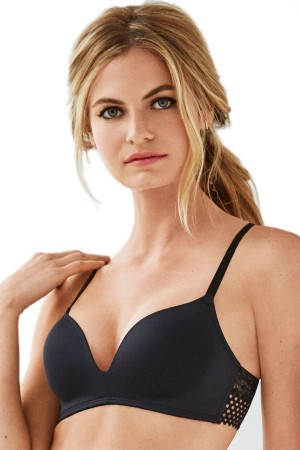 Wacoal b.tempt'd Tied in Dots Wire Free Push Up Bra