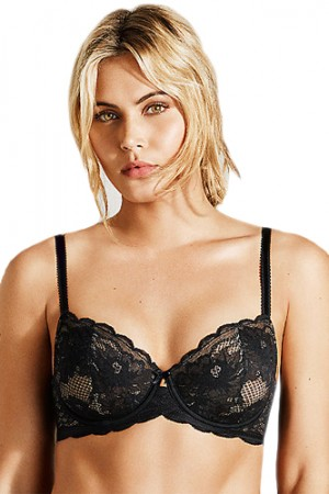 Wacoal Fire and Lace Underwire Bra