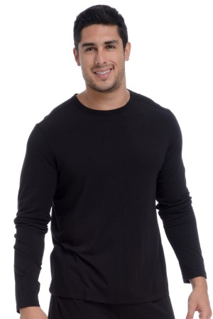 Wood Underwear Lounge Crew Neck Long Sleeves