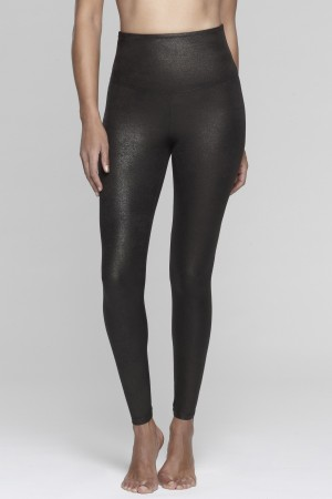 Yummie Jade Faux Leather Legging