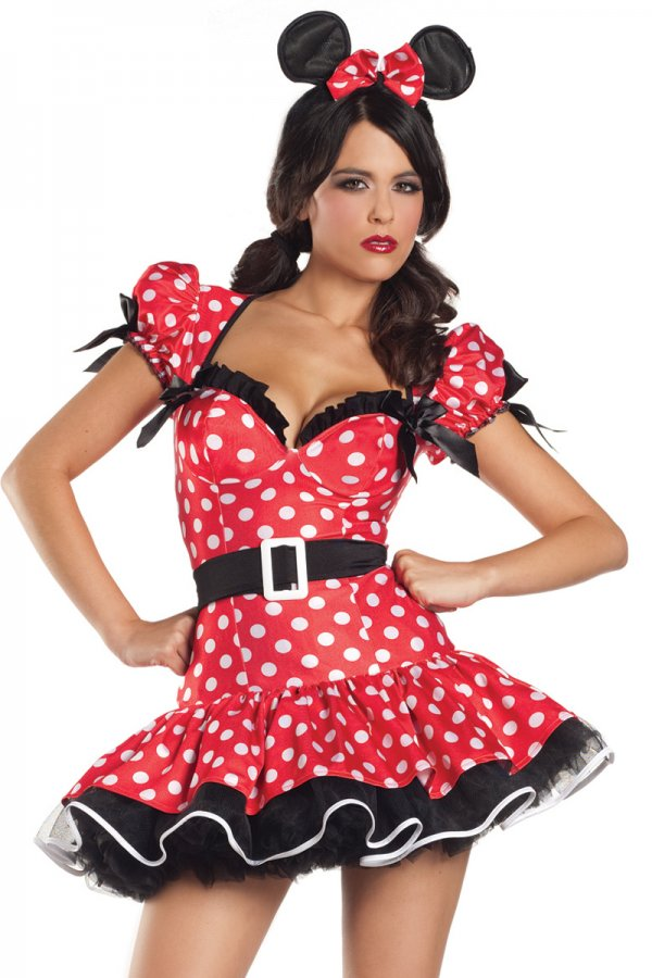 Be Wicked Flirty Mouse Costume Bw1082 Sexy Lingerie