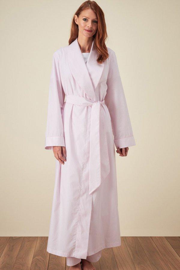 Bonsoir of London Classic Cotton Gown CLFG | Sleepwear