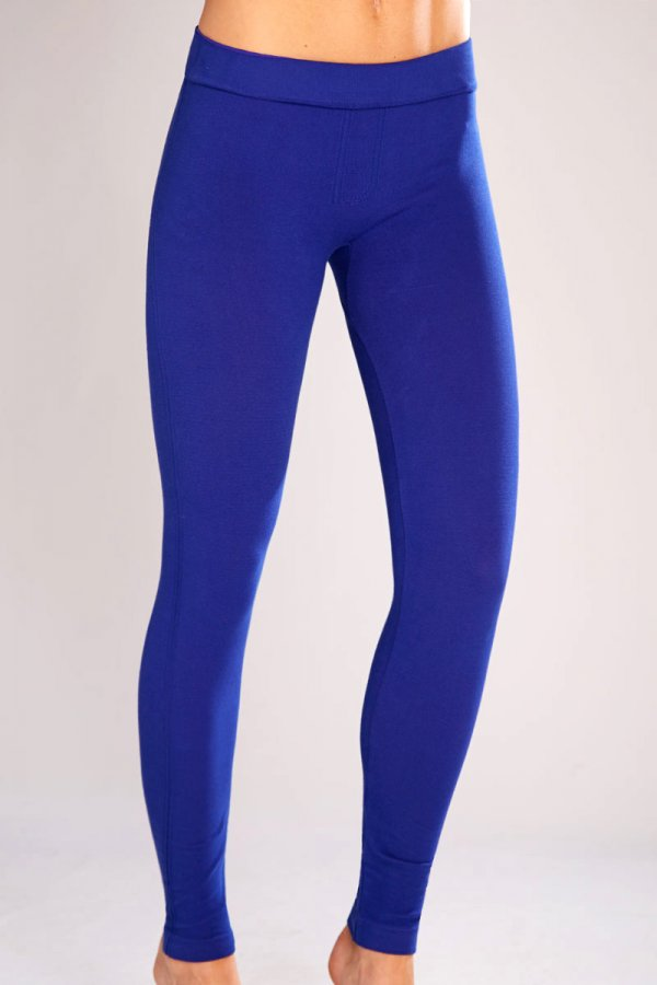 Classic Shapewear Twill Cotton Cobalt Leggings ATG186-CBT | Women's