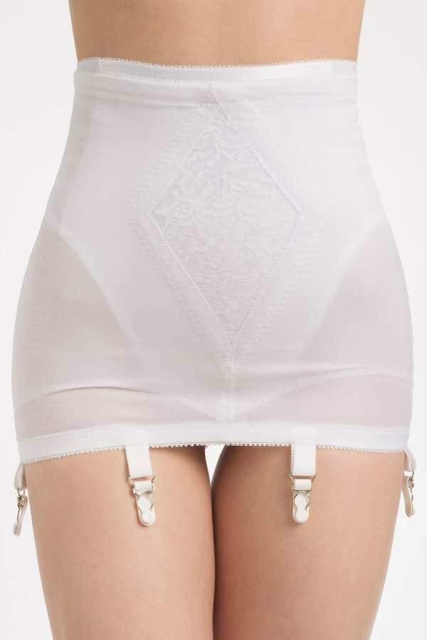 Women Wearing Open Bottom Girdles-4140