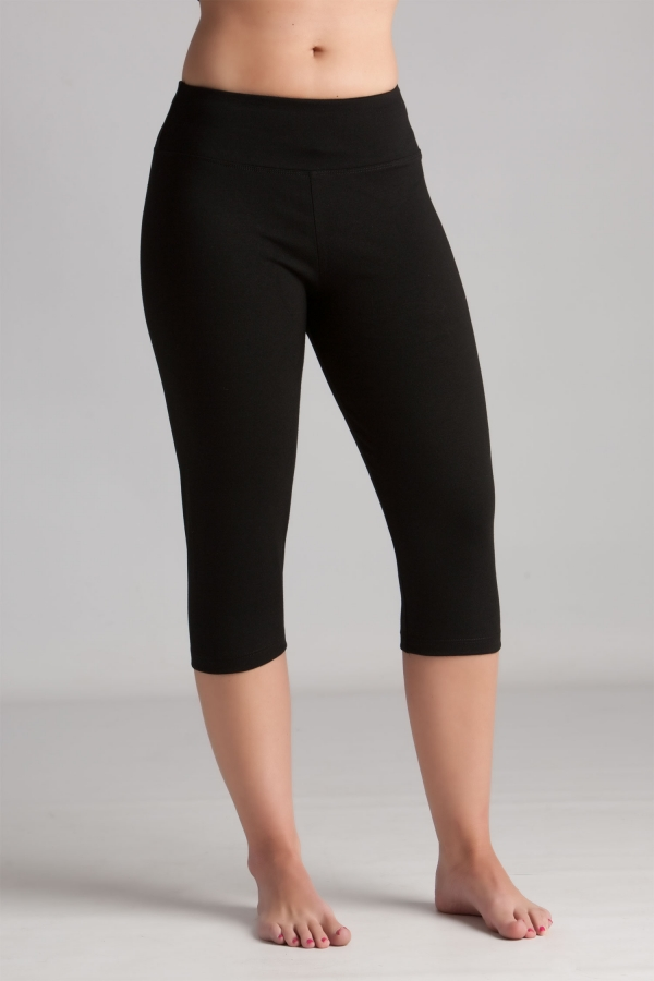 TruActivewear Cotton Spandex Capri Pants Y44847 | Women's