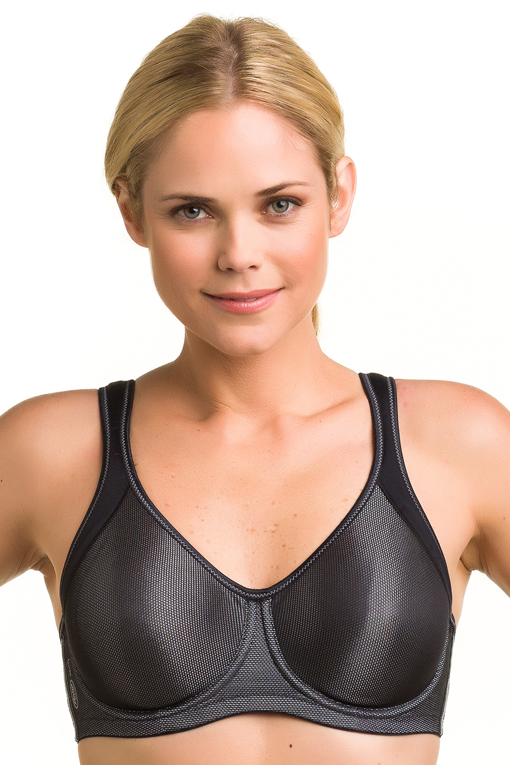 ANITA Active Sports Bra with Underwire Black - 40 - C 5519