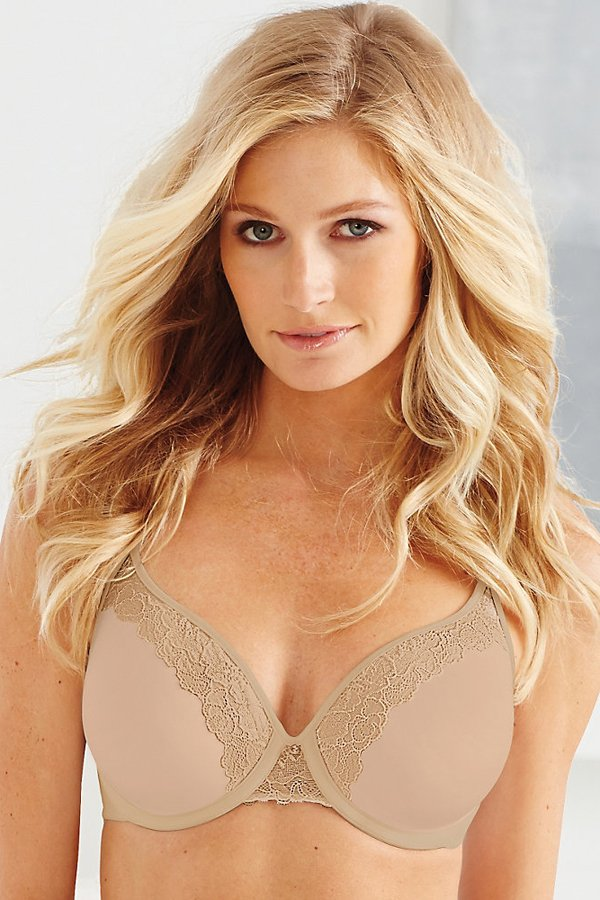 BALI One Smooth U Ultra Light Lace with Lift Underwire Br...
