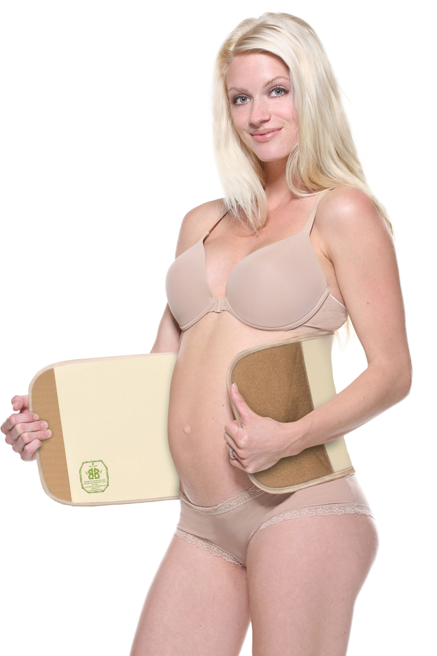 Belly Bandit Bamboo Postpartum Girdle Belt Natural - M BA