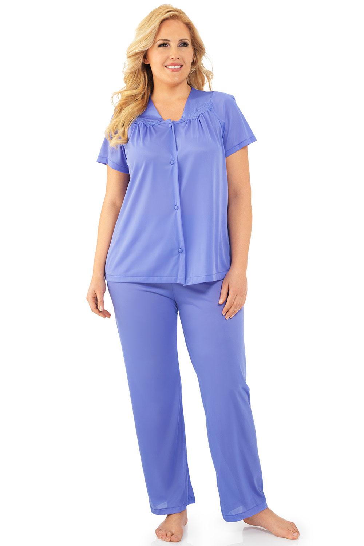 Exquisite Form Short Sleeve Pajama Victory Violet - L 901...